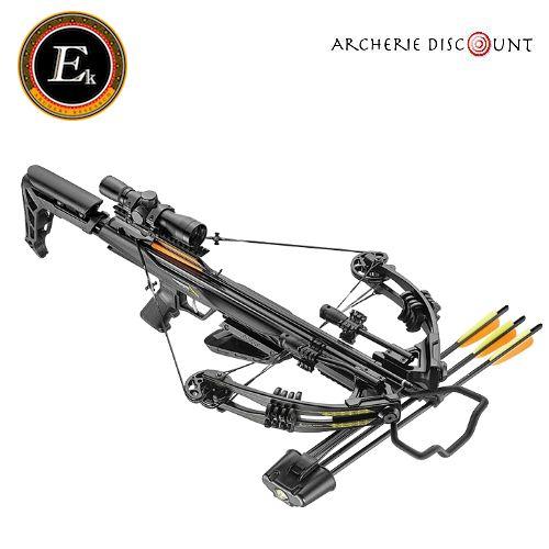 Arbale te ek archery blade 175 lbs noire a crosse rabatable