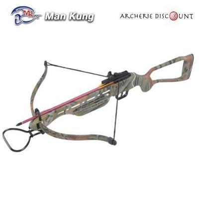 Arbalete camouflage 150 livres pas cher archerie discount com