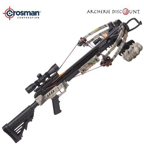 Arbalete compound a poulie crosman sniper 370 camo