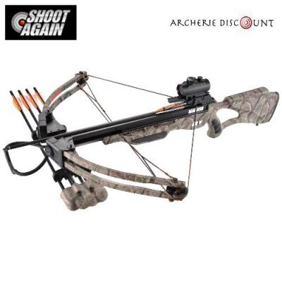 Arbalete poulie compound shoot again camo 175 lbs puissante