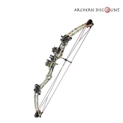Arc a poulie compound camo m107 pas cher archerie discount