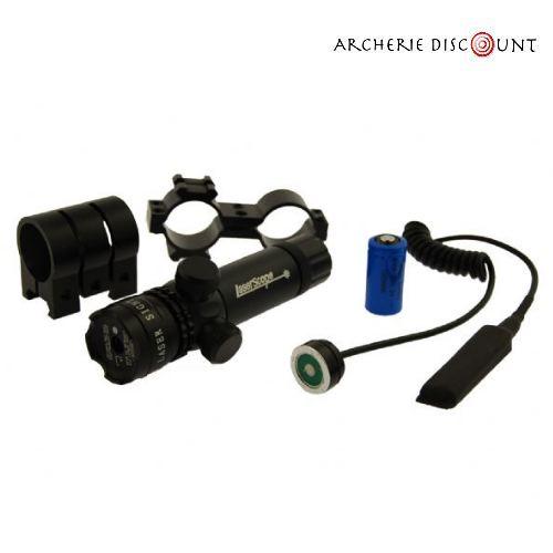 Archerie discount lampe laser vert de tir