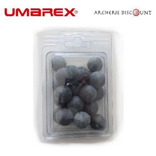Balle en caoutchouc grise de lance pierre archerie discount