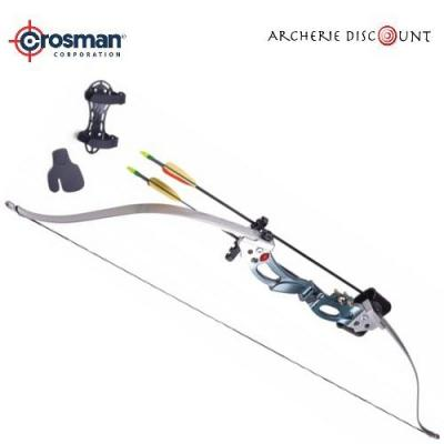 Complet arc crosman arc augusta bow youth recurve pas cher