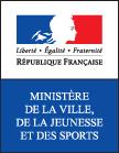 Ministere ville jeunesse sports logo