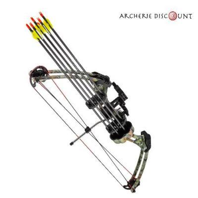 Pack complet arc compound m107 camo sombre archerie discount