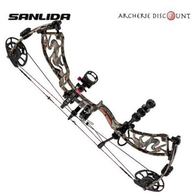 PACK Arc compound de chasse Sanlida Camo G1