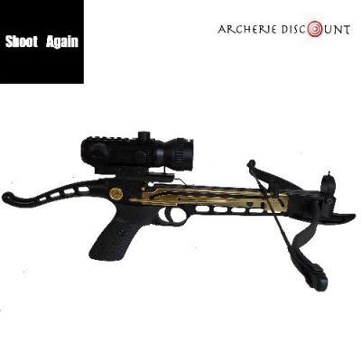 Pack complet pistolet arbalette CF101 + viseur point rouge