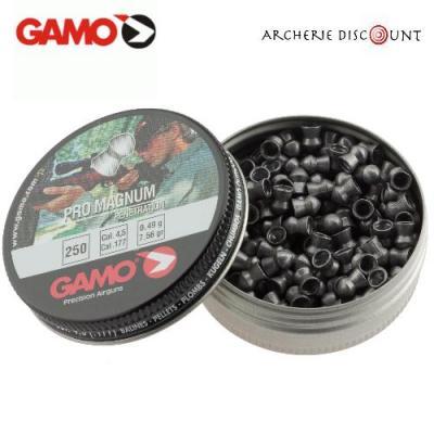 Plomb pointus pour air comprime 4 5 mm gamo pro magnum x 250