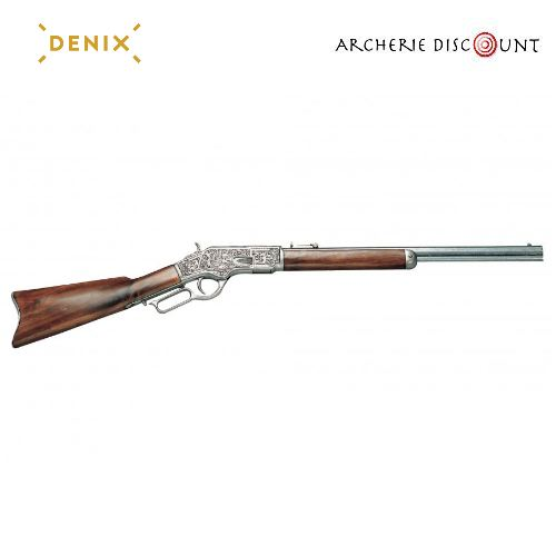 Re plique d arme en me tal carabine a levier winchester 1873