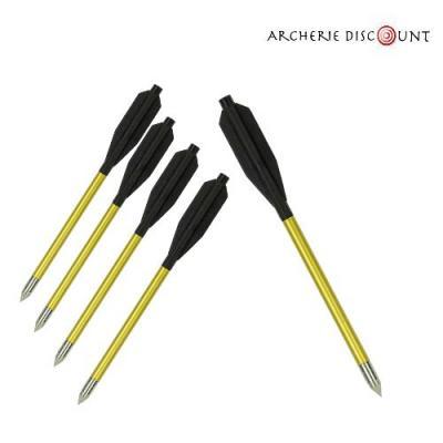 Taits arbalete 16 cm aluminium pas cher archerie discount