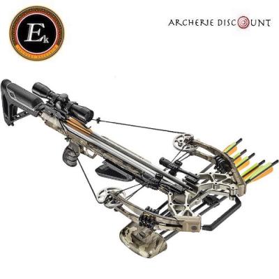 Arbalète Ek Archery Accelerator 410 snow -camo /185 lbs