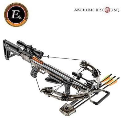 Arbalète Ek Archery Accelerator 390 snow -camo /185 lbs