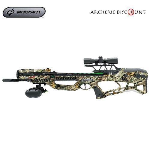 Arbale te barnett quad edge s 350 fps camouflage avec lunette de tir