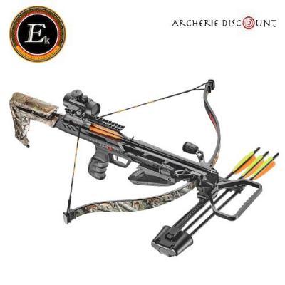 Arbalète EK Archery JAG II Pro Deluxe Camo 175 lbs