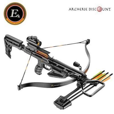 Arbalète ek archery  JAG II Pro Deluxe noire 175 lbs