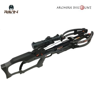 Arbalète  ravin R10 gunmetal 400fps 142LBS