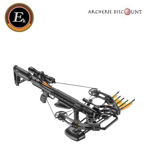 Arbale te torpe do 355 fps carbon black 185 lbs ek archery