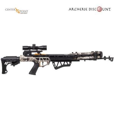 CENTER POINT AMPED 415 PACKAGE 415FPS / 200LBS / 4X32 SCOPE / QUIVER AND COCKER