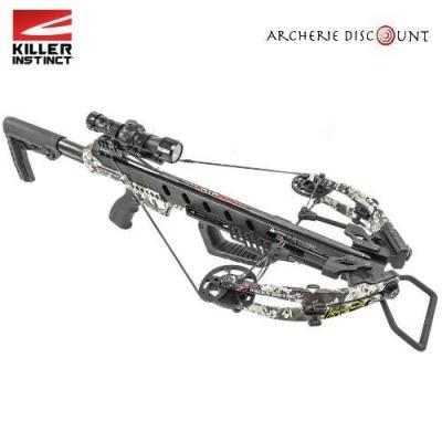 KILLER INSTINCT RIPPER 425FPS PRO PACKAGE COMPOUND CROSSBOW CHAOS GREEN