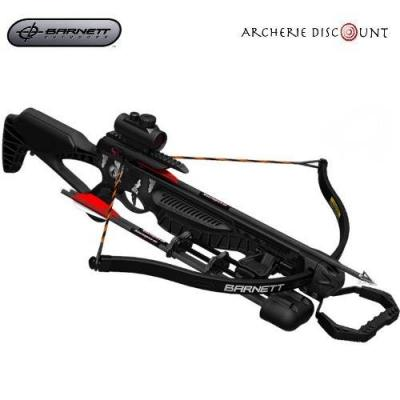 BARNETT BLACKCAT RECURVE CROSSBOW SET 260FPS 165LBS RED DOT SCOPE