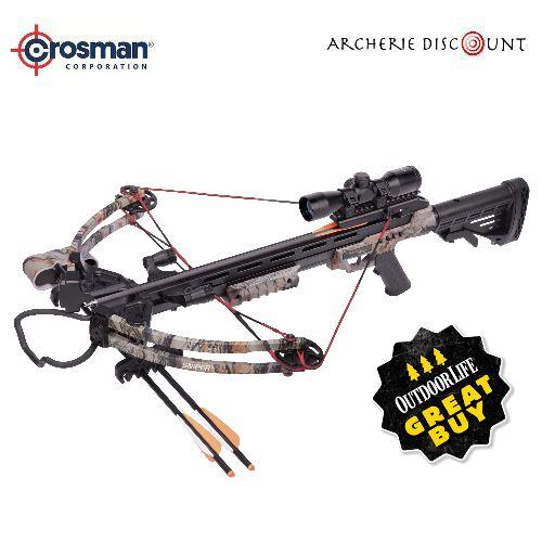Arbalete compound a poulie crosman sniper 370 185 livres 1