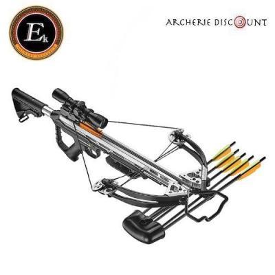 Arbalète Torpédo 355 fps  noire /original 185 lbs - Ek Archery