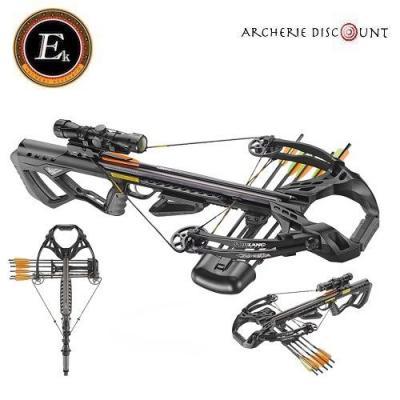Arbalète Guillotine X ek archery de 185 lbs avec lunette