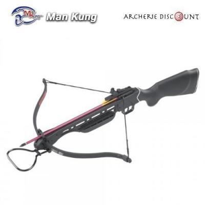 Arbalète Man kung noir de 150 LBS