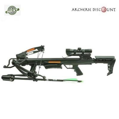 ROCKY MOUNTAIN COMPOUND CROSSBOW SETS RM-360 360FPS / 185LBS / 4X32 SCOPE / QUIVER AND COCKER