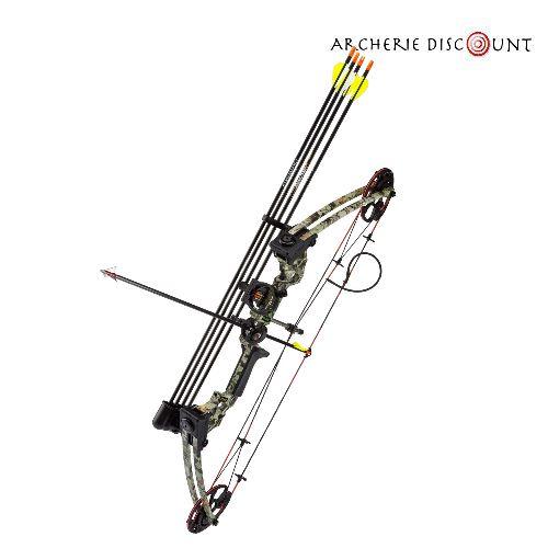 Arc a poulie compound camo m120 complet archerie discount
