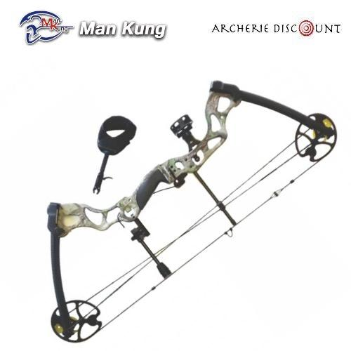 Arc a poulies fossil mankung chasse