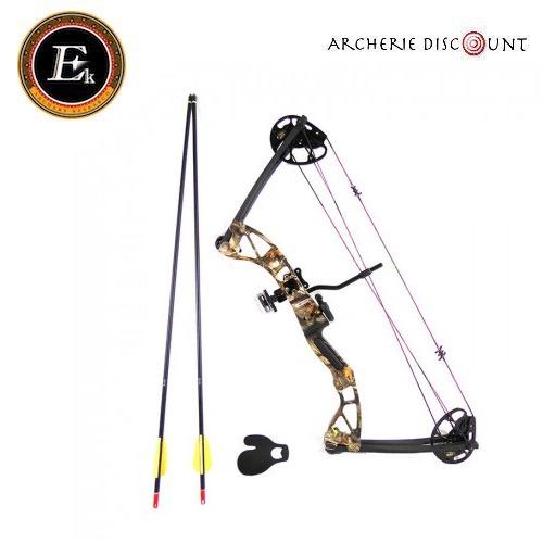Arc a poulies rex camo ek archery