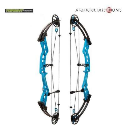 Arc à poulies Topoint Serenity 35 - 60 LBS RH  turquoise