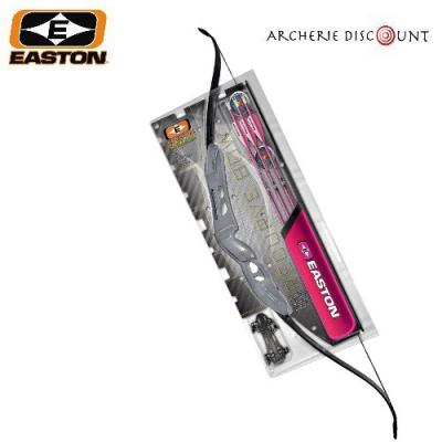 "Arc BEGINNER kit 52"" AMBIDEX 10/20 LBS pink accents easton"