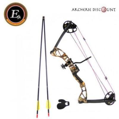 Arc à poulie  ek archery rotating REX  20-29