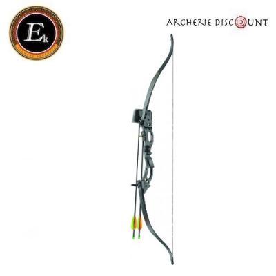 Arc KORRIGAN recurve 15-20 LBS NOIR de Ek Archery