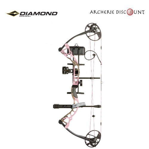 Arc poulie diamond pink camo