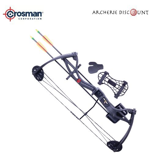 Arc poulie pas cher pack crosman wildhorn archerie discount 1
