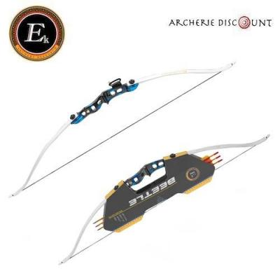 Arc Beetle recurve bow de 15 - 20 lbs Ek Archery