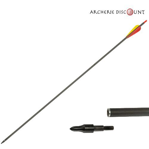 Archerie discount pour arc compound fle che carbonne 32 spin 340