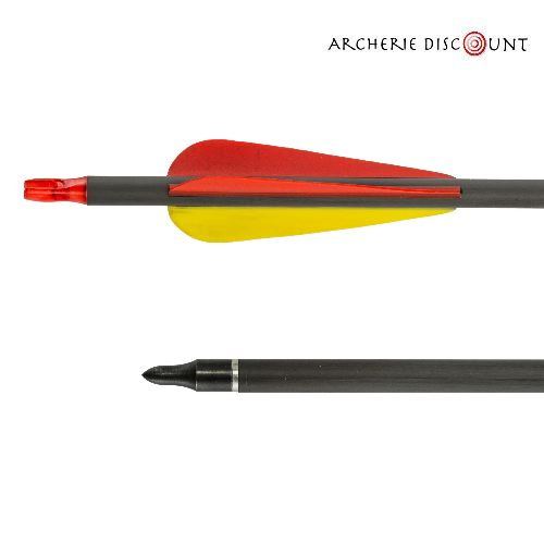 Archerie discount pour arc compound fle che carbonne 32 spin 341