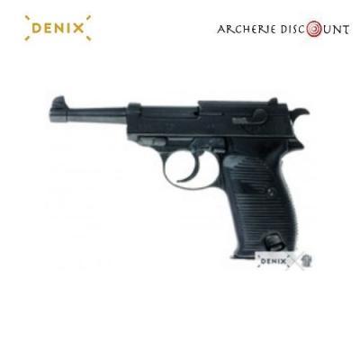Réplique décorative Denix du pistolet allemand 1938
