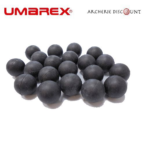Balle en caoutchouc 18mm de lance pierre archerie discount