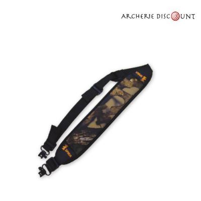 Bretelle néoprène camouflage pour  arbalète