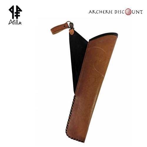 Carquois attila de ceinture en cuir imprime