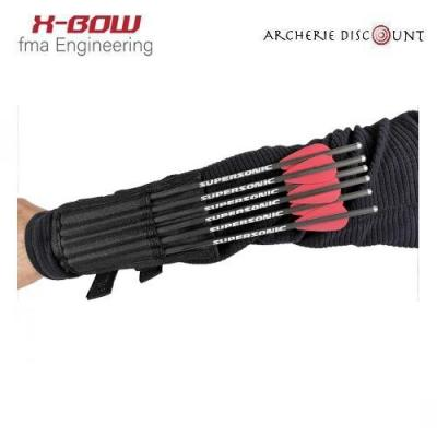 Carquois avant bras 6 traits X-BOW FMA SUPERSONIC