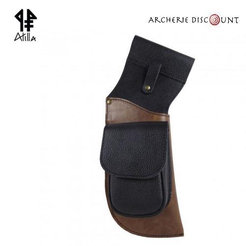 Carquois de ceinture holster en cuir
