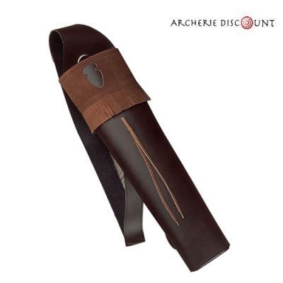 Carquois dorsal en cuir