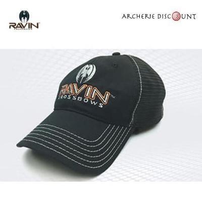 Casquette avec logo Ravin en noir